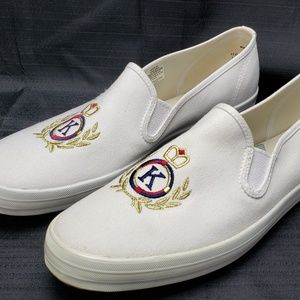 Ked's Champion Slip-on Crest Canvas Tennis Shoes
